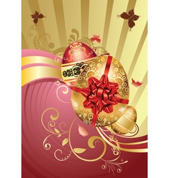 Decorative easter background4 vector