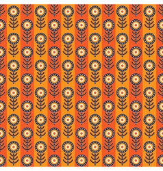 Abstract seamless pattern with strips vector image