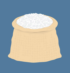 bag of rice vector image