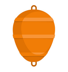 Bobber icon flat style vector