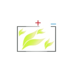 Eco green energy vector image vector image
