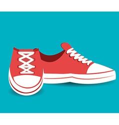 Shoes design vector