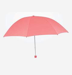 women pink umbrella vector image vector image