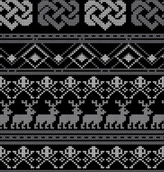 Pattern crochetn vector