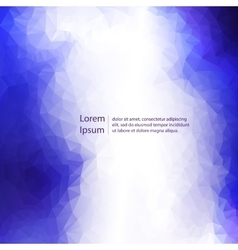 Abstract light template background vector