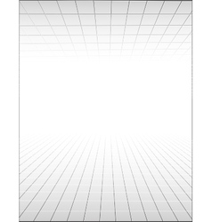 Abstract background with a perspective grid vector