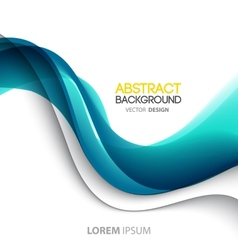 Abstract color lines background Template brochure vector image vector image