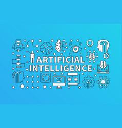 Ai artificial intelligence vector