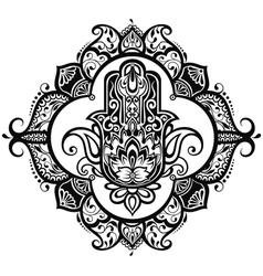 Hamsa vector image vector image