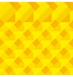 Seamless yellow geometrical pattern vector image vector image