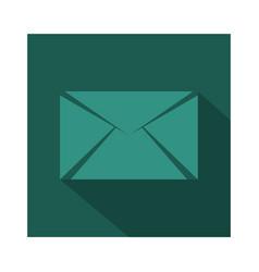 Message icon vector