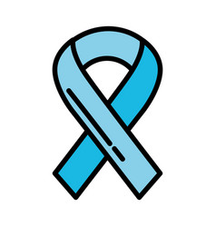 Shadow awareness ribbon vector