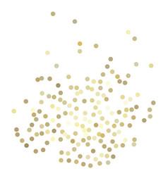 Golden glitter background vector