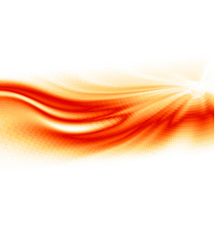 Fire flame abstract wave background vector