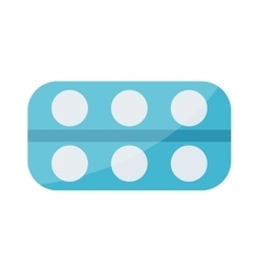 Tablet pills icons vector