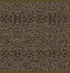 ethnic stylized seamless pattern vector image