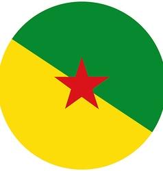 French guiana flag vector