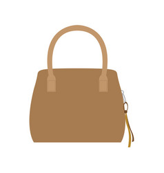 isolated fashion handbag vector image