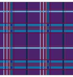 Tartan lilac seamless pattern vector image