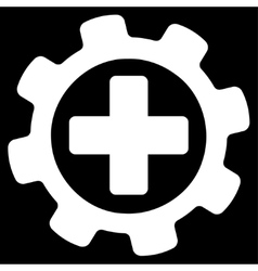 Medical settings icon vector