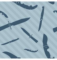 knives wallpaper vector image