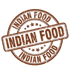 Indian food stamp vector