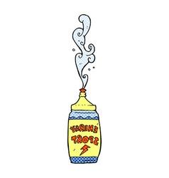 Comic cartoon energy drink vector