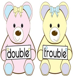 Double trouble vector