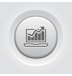 Traffic icon grey button design vector