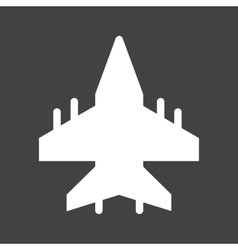 Military plane vector