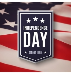 Happy independence day 4th of july background vector