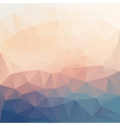 Abstract poligonal textured background vector
