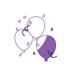 Balloons icon image vector