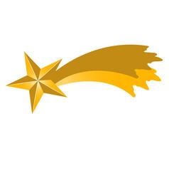 Isolated star shape vector