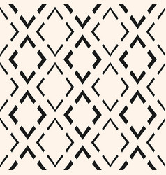 ornamental texture with linear rhombuses vector image vector image