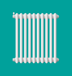 Heating radiator retro heating system vector