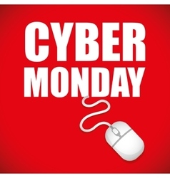 Cyber mondays e-commerce promotions and sales vector