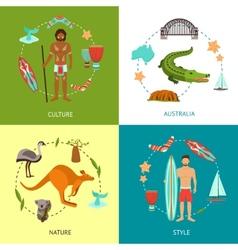 Australia Design Concept vector image vector image