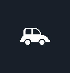 Car transport icon simple vector