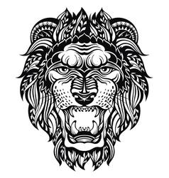 Lion head graphic vector