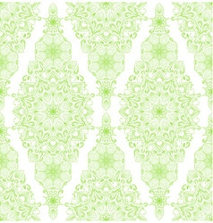 Decorative floral mandala seamless pattern vector