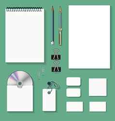 Items for the office templates vector