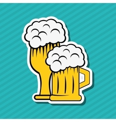 Beer icon design vector