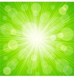 Abstract sunburst light background vector image