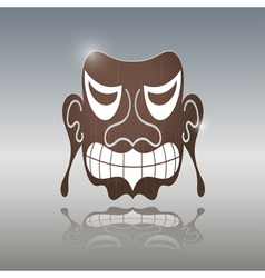 African Mask vector image