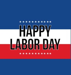 Collection background labor day style vector