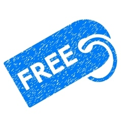 Free tag grainy texture icon vector