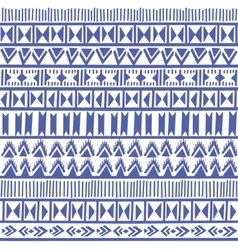 Seamless geometric pattern in ethnic style vector image vector image