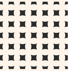 simple geometric seamless pattern with square vector image vector image