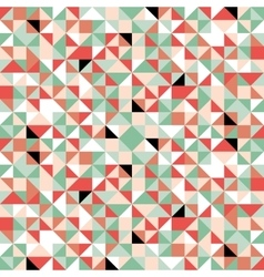 Retro origami colorful seamless pattern vector